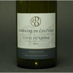 Domaine de l'Olivier, Tradition, Côtes du Rhône, rød, 2009, 75 cl.