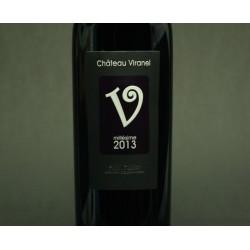 """Chateau Viranel, Cuvée """"V"""", St. Chinian, 2012, rød, 75 cl."""