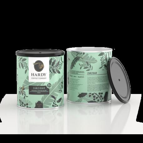 Hardy Coffee, Zanzibar, Espresso, malet, dåse, 250 gr. - ØKO
