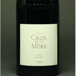 Domaine Cros de la Mûre, Massif d'Uchaux CdRV, 75 cl., BIO