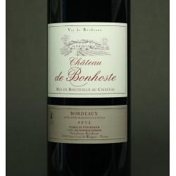 Chateau de Bonhoste, Tradition, Bordeaux Supériéur, 2013, 75 cl.