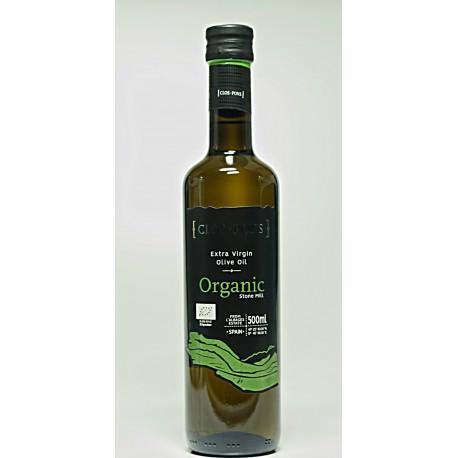 Organic, ekstrafin jomfruolivenolie, Katalonien, Spanien, Clos Pons, 0,5 l.